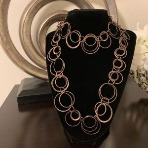 """Daisy Fuentes chain link necklace 23"""""""
